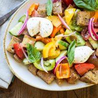 End of Summer Panzanella Salad