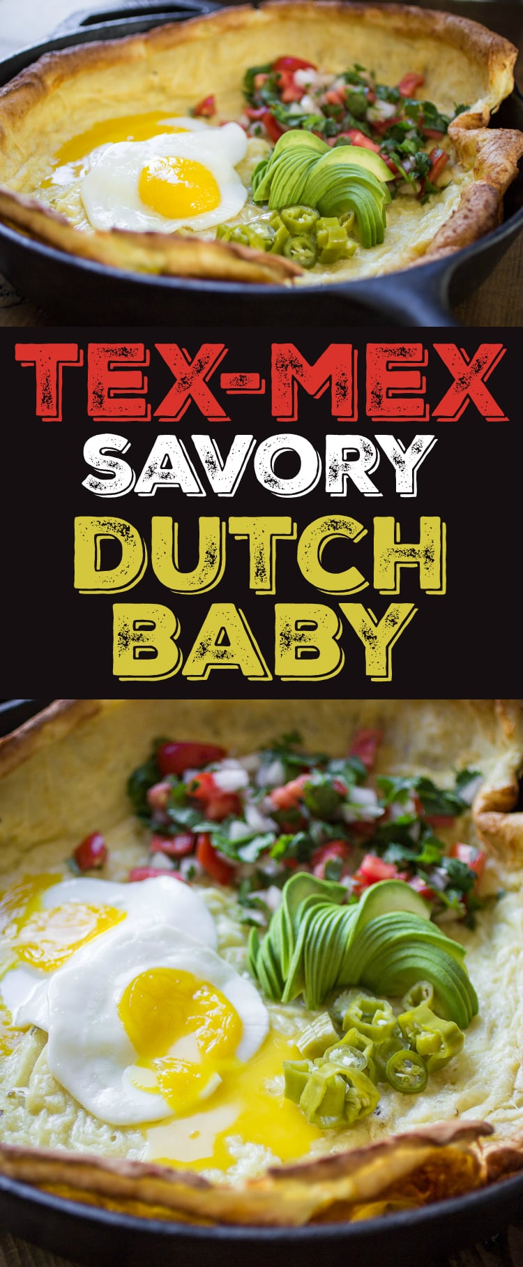 The world's most under-appreciated breakfast just got a whole lot tastier. This savory Tex-Mex Dutch Baby will delight and satisfy everyone at the table.
