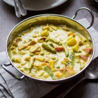 Creamy Indian Vegetable Korma