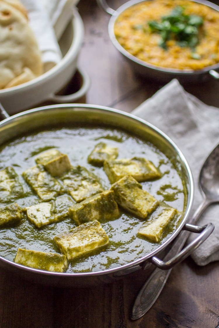 Vegan Palak Paneer The Wanderlust Kitchen