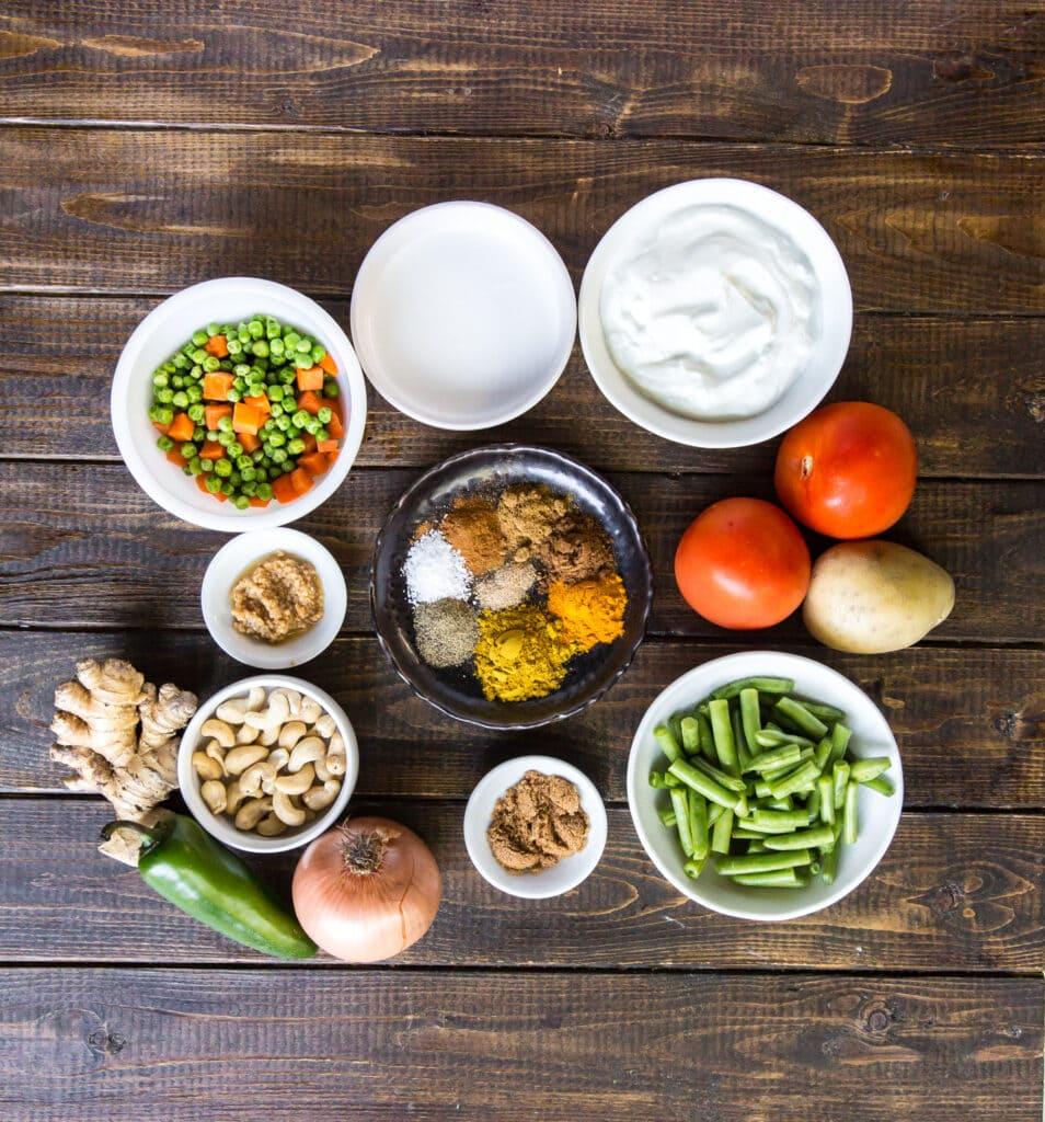 How to Make Vegetable Korma