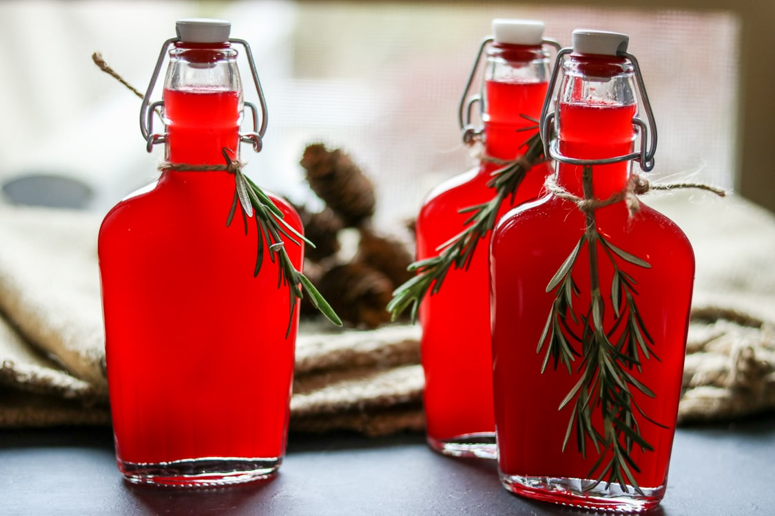 If you've never tried a fresh vodka and cranberry cocktail, here's your chance! All you need is a bag of cranberries, a bottle of vodka, and a blender. For this recipe I've added homemade rosemary simple syrup to create a festive holiday cocktail!