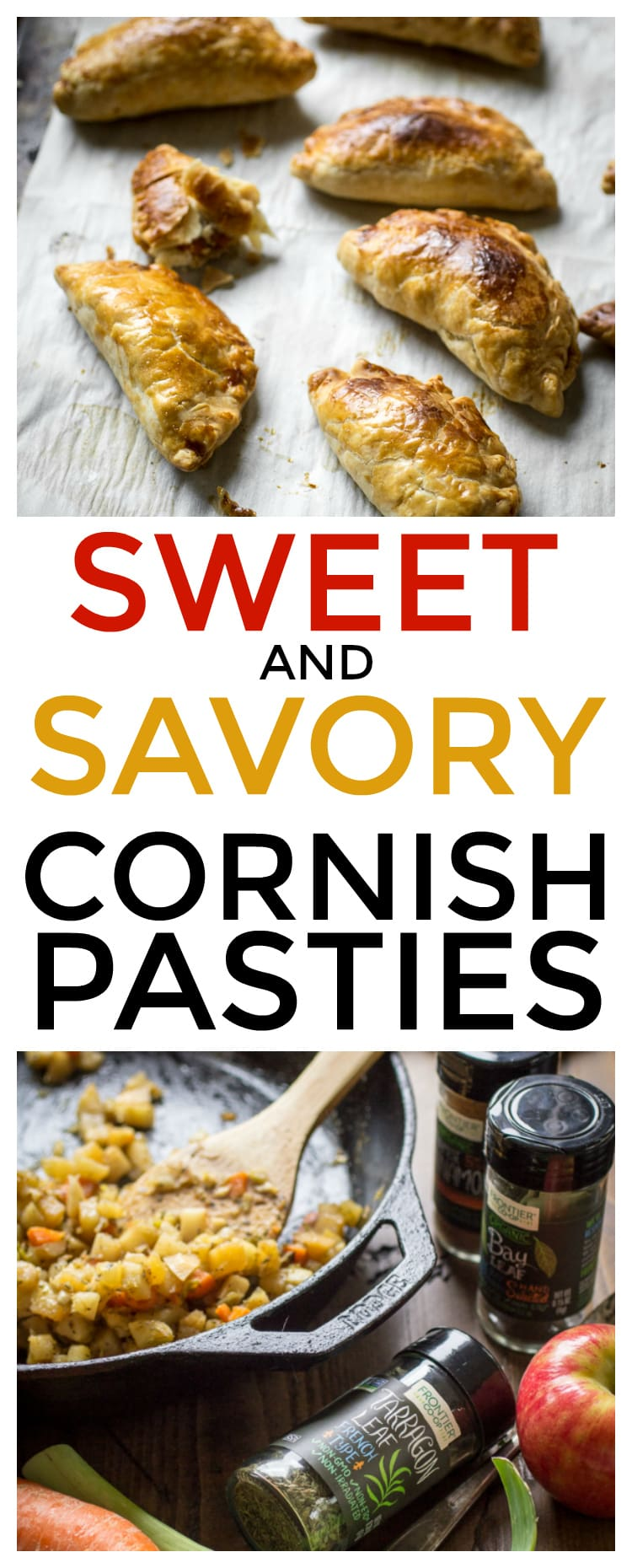 Whip up these vegetarian Cornish pasties next time you need an easy and versatile appetizer!
