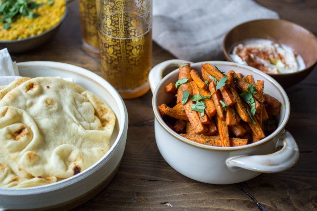 vegetarian-indian-recipes-curried-carrot-fries