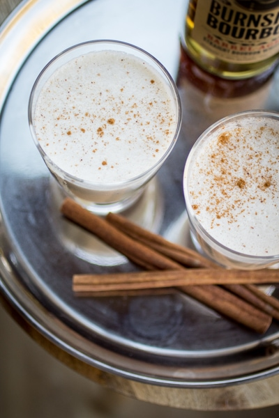 Homemade Eggnog - once you make it at home, you'll never go back to store bought!