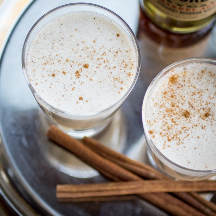 Egg Nog Using Heavy Cream: The Wanderlust Kitchen