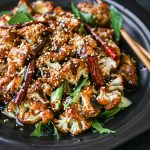 General Tso's Baked Cauliflower