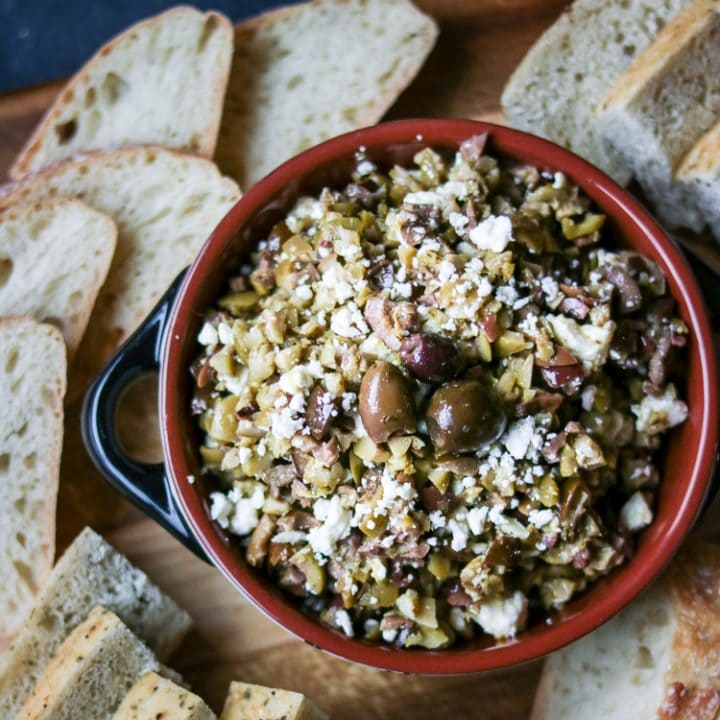 Lemony Olive Tapenade with Feta