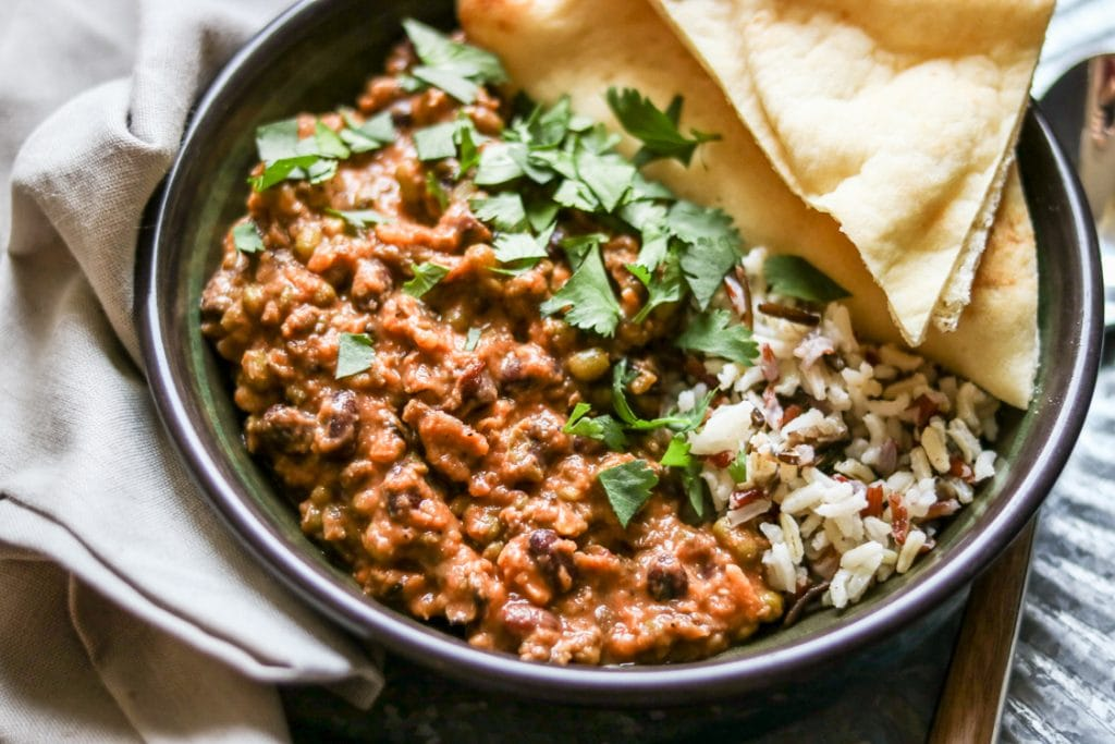 Whip up a big pot of Madras Lentils and stock your freezer with a week