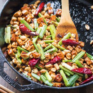 15 Minute Kung Pao Tofu