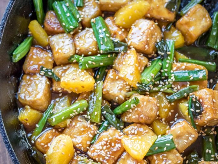 Sesame Orange Tofu Stir Fry The Wanderlust Kitchen