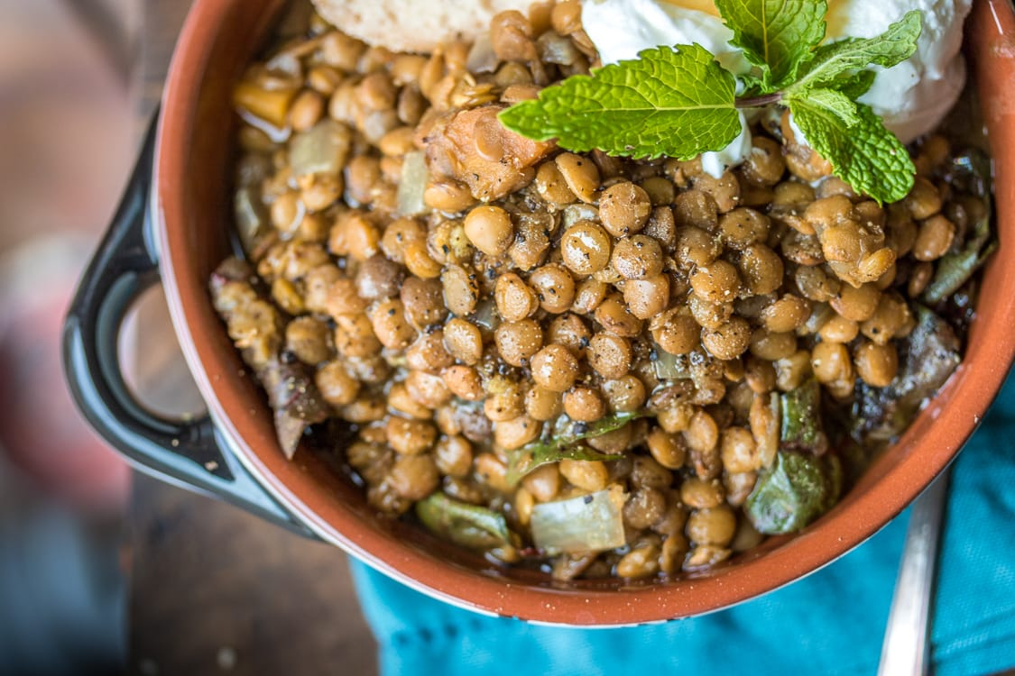 This versatile recipe uses a slow cooker to make tender Moroccan Lentils. Serve the lentils over rice, or puree it into a soup. The choice is yours!