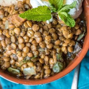 Slow Cooker Moroccan Lentils