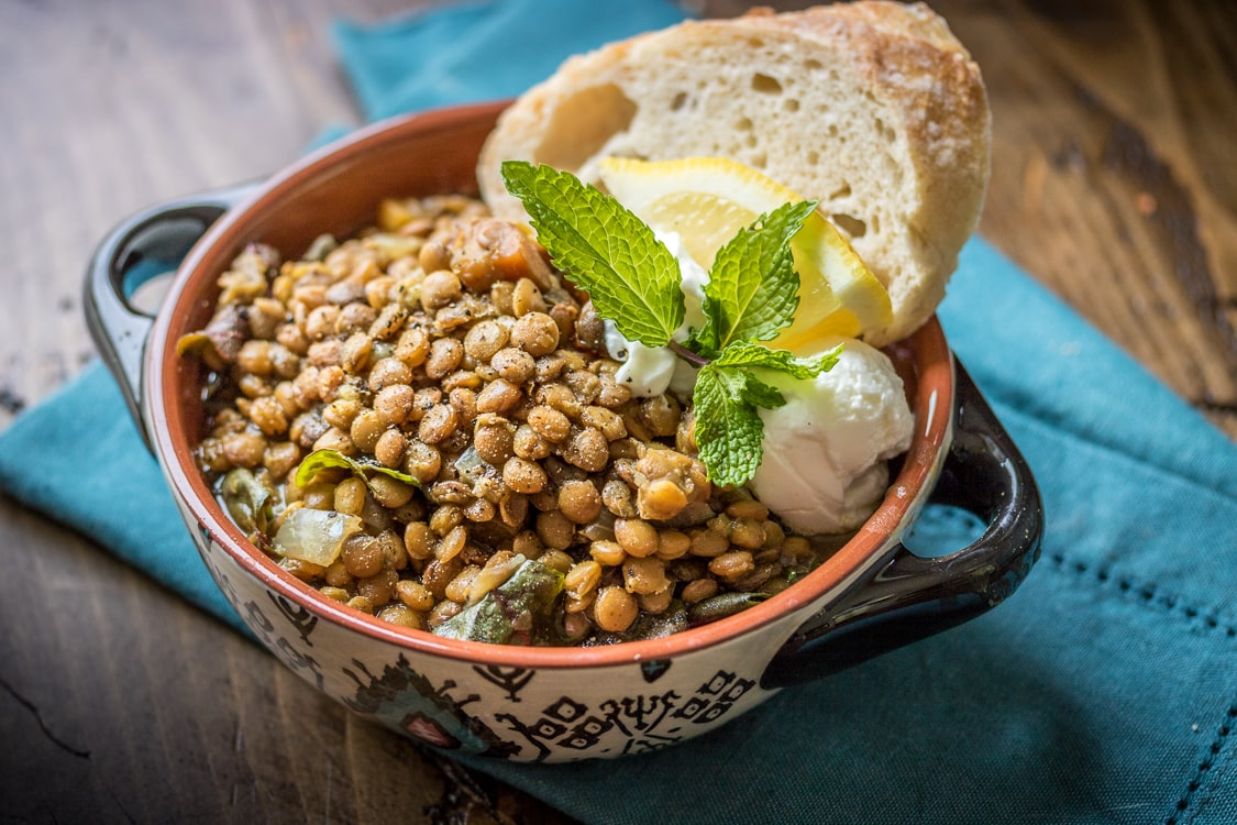 This Versatile Recipe Uses A Slow Cooker To Make Tender Moroccan Lentils  Serve The Lentils