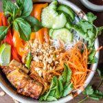 Vegan Bún Chay (Vietnamese Noodle Salad)