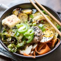 Winter Vegetable Ramen Bowls