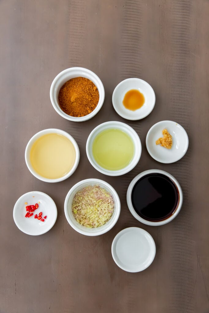 Tofu Vermicelli Bowl Salad Dressing Ingredients