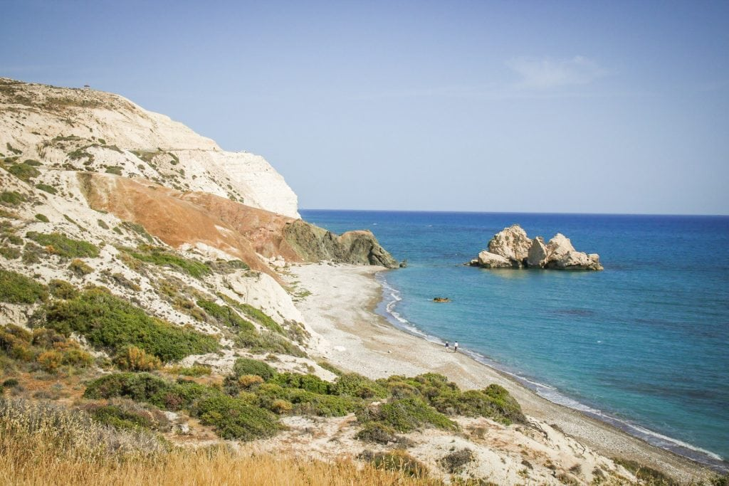 Blue skies, warm water, and white sandy beaches are reason enough to visit this ancient island. The best way to see this Mediterranean gem? A road trip through Cyprus!  Read the things to do in Cyprus to help plan your trip! Yell it with me together: Road Trip Cyprus!