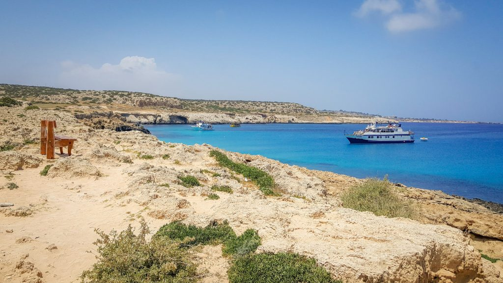 Blue skies, warm water, and white sandy beaches are reason enough to visit this ancient island. The best way to see this Mediterranean gem? A road trip through Cyprus!  Read the things to do in Cyprus to help plan your Cyprus travel!!