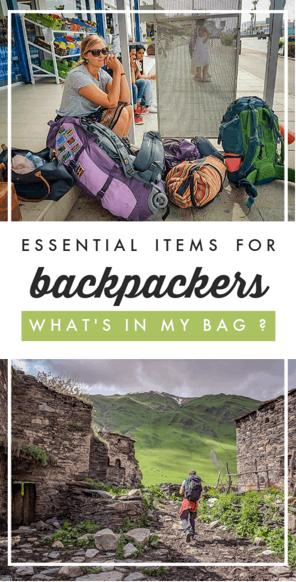 What's in My Bag? After staying in more than 50 hostels over the past year and half, I'm sharing my list of essential items for backpackers.