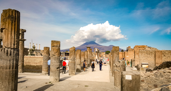 Things to Do in Naples - Visit the Ruins at Pompeii