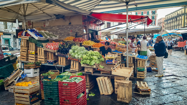Visit the Local Markets - Best Things to Do in Naples