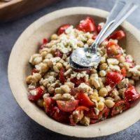 10 Minute Mediterranean Chickpea Salad