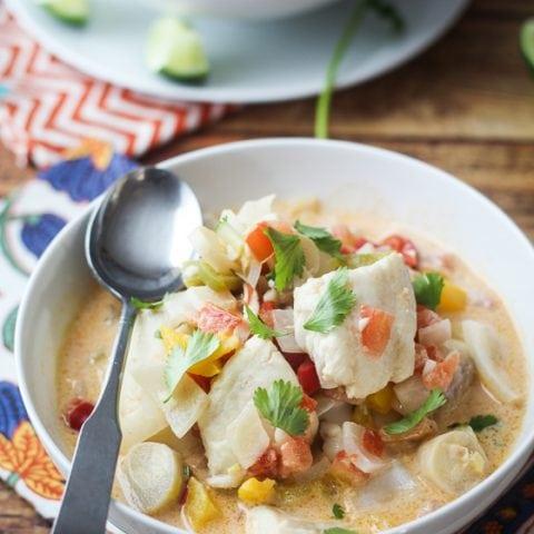 Brazilian Fish Soup (Moqueca)