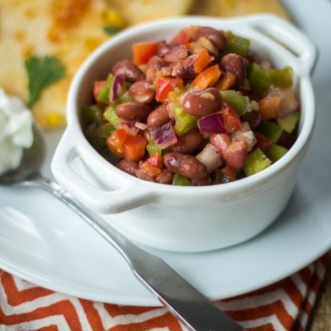 Caribbean Red Bean Salad