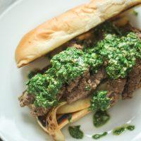 Chimichurri Steak Sandwich