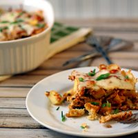 Chipotle Chicken & Sweet Potato Tamale Pie