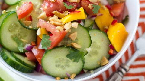 East African Mango And Cucumber Salad The Wanderlust Kitchen