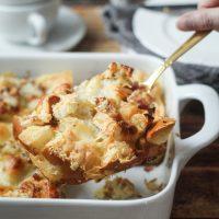 Easy Cheesy Overnight Italian Strata