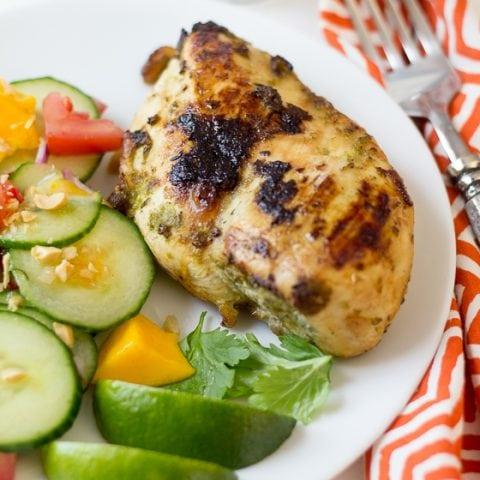 Jamaican Jerk Chicken Lightened Up The Wanderlust Kitchen