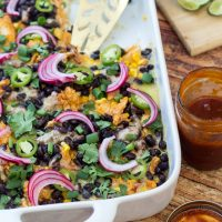 Tex Mex BBQ Chicken Tamale Pie
