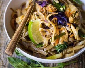 Easy Thai Drunken Noodles The Wanderlust Kitchen