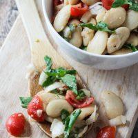 Easy Uruguayan Bean Salad