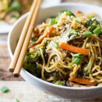 Veggie Loaded Chow Mein