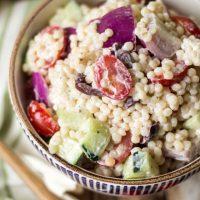 Greek Couscous Pasta Salad