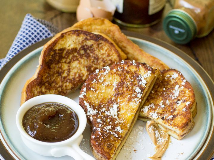Peanut Butter And Jelly French Toast The Wanderlust Kitchen