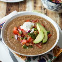 Mexican Pinto Bean Soup