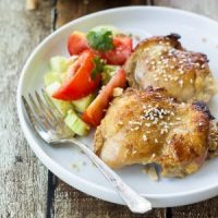 Sticky Thai Sesame Chicken