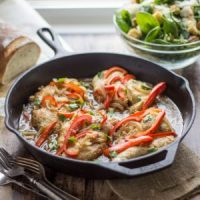 30 Minute Tuscan Chicken Marsala