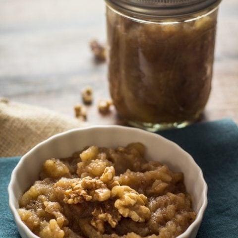 Vanilla Chai Crockpot Applesauce