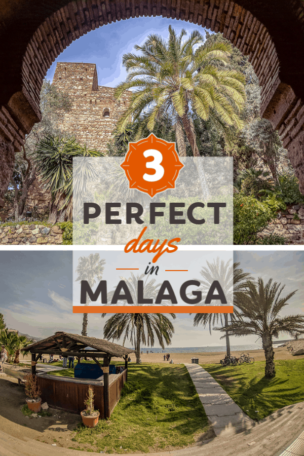 Planning a long weekend in Andalusia? Here's an easy-to-follow itinerary with lots of photos to help you rock your 3 days in Malaga, Spain!