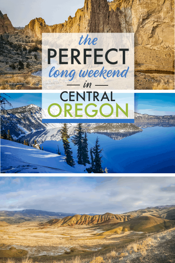 Want to plan the perfect long weekend in Central Oregon? Look no further!