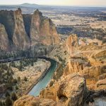 Hike the beautiful Misery Ridge Loop at Smith Rock State Park in Central Oregon. Don't let the name fool you, this hike is anything but miserable!