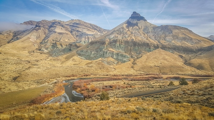 Sheep Rock, John Day Fossil Beds Monument | The Perfect Long Weekend in Central Oregon
