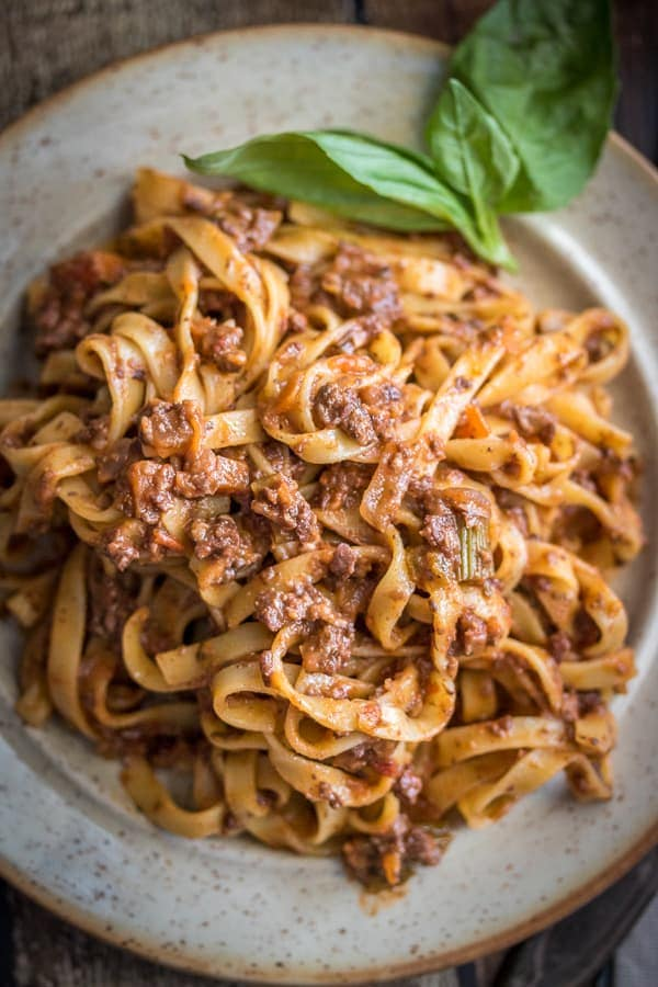 This vegan bolognese sauce is perfect for Date Night! This is my best vegan bolognese sauce!