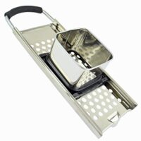 Zoie + Chloe Premium 18/10 Grade Stainless Steel Spaetzle Maker with Comfort Grip Handle